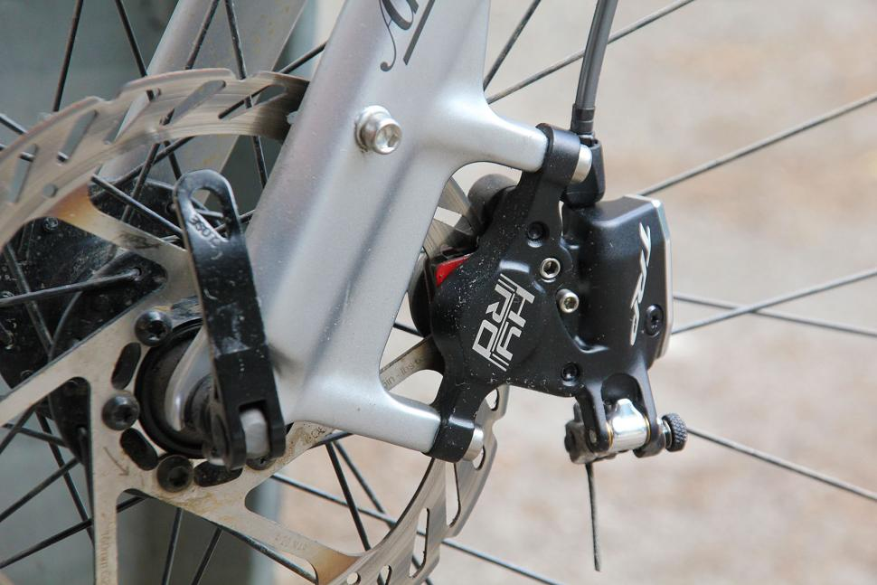 TRP HY//RD Mechanical//Hydraulic Post Mount Brake Gray