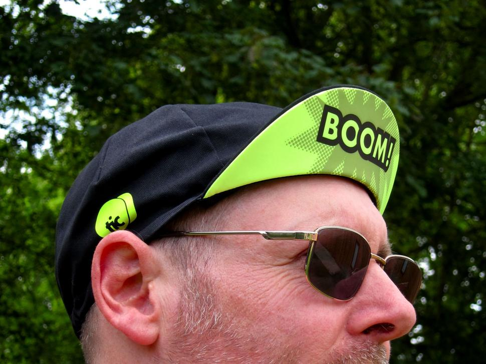 "This Is Cambridge ""Panache"" Cycling Cap"