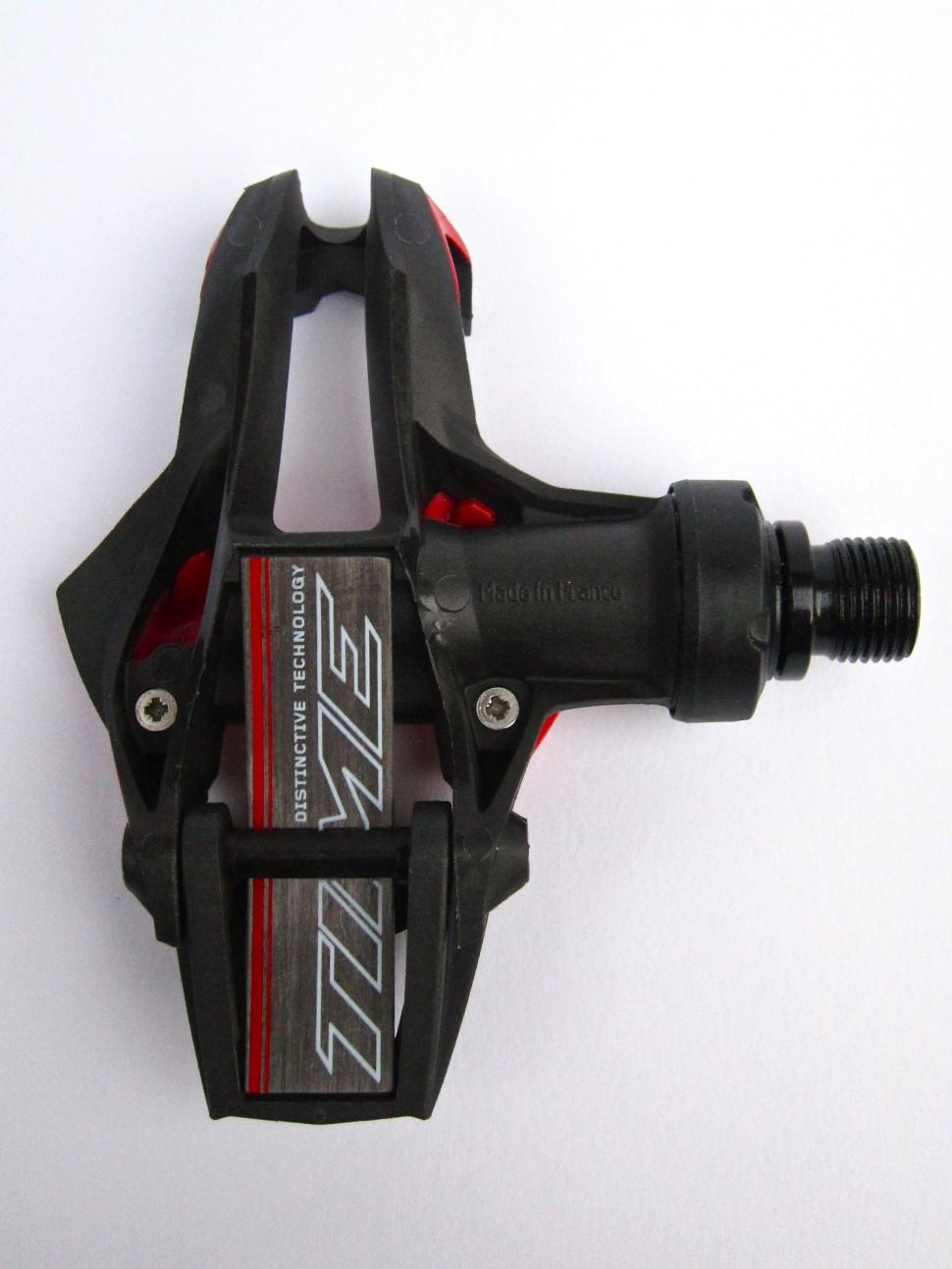 Good Time X-Presso 8 Carbon Pedals Clipless Black//Red