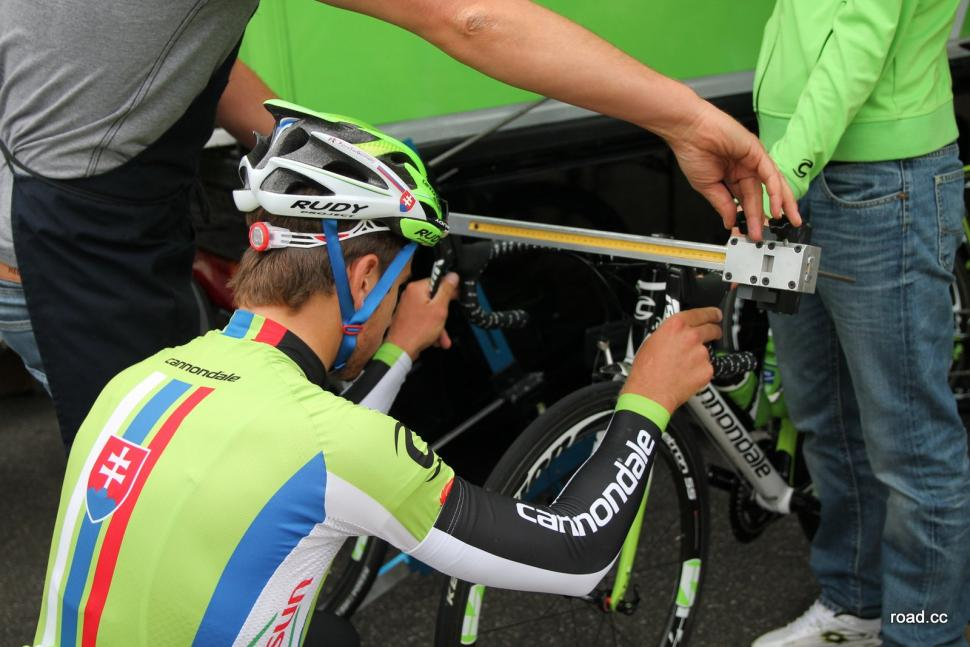 peter sagan bike setup