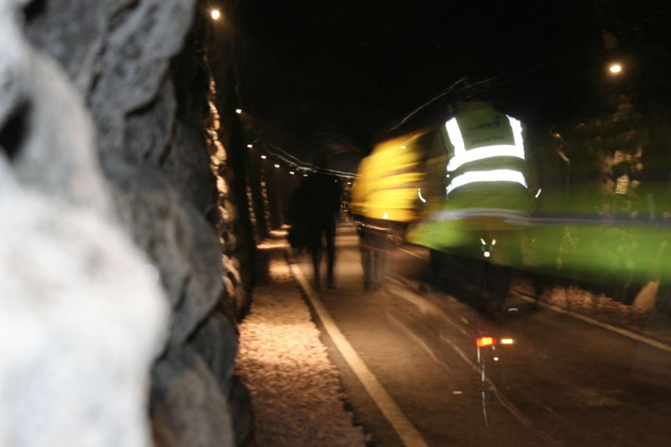Two Tunnels opening - riding