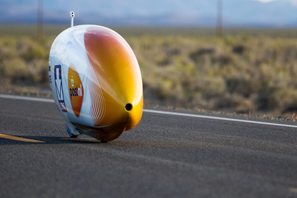 Sebastiaan Bowier Sets New Human Powered Vehicle Record In Nevada