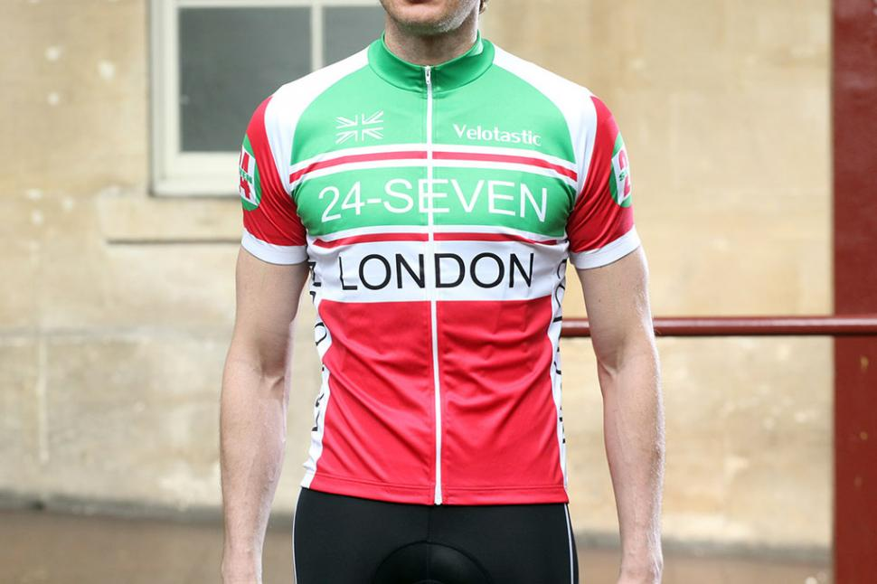Review  Velotastic 24-Seven London Short Sleeve Cycling Jersey  f775f8c5f