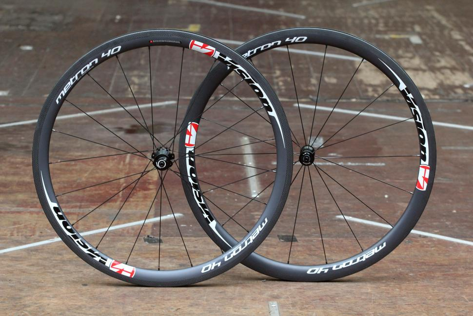 f4cacdd1a Review  Vision Metron 40 Clincher wheels
