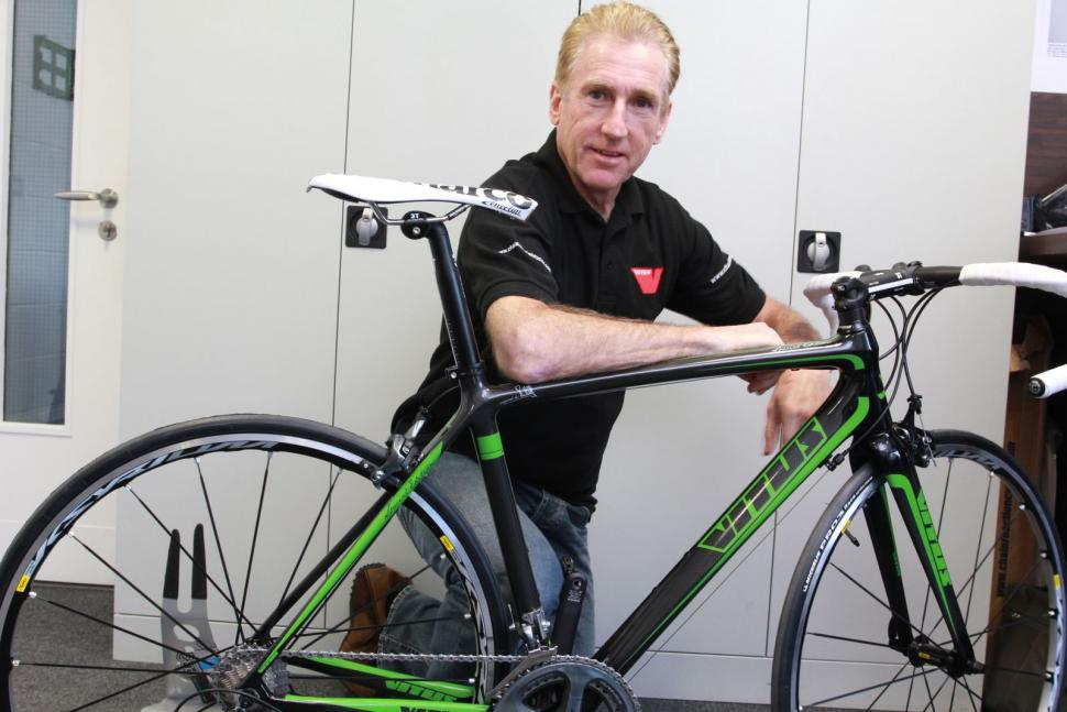 fe6117973 Vitus team up with Sean Kelly (again) for 2012 road range