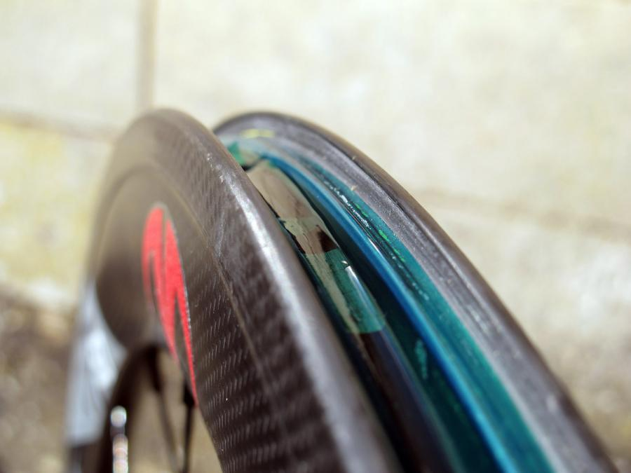 Velocite RT50 tubeless carbon wheelset - rim