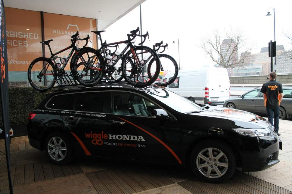 ae8805718c7 Wiggle Honda Women's Pro Cycling Team launch | road.cc