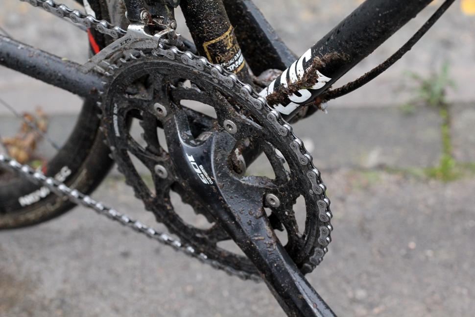 Winterise your bike - crank