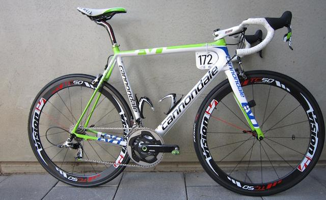 38b286dc10f Pro Bike: Cristiano Salerno's Cannondale Pro Team SuperSix Evo | road.cc