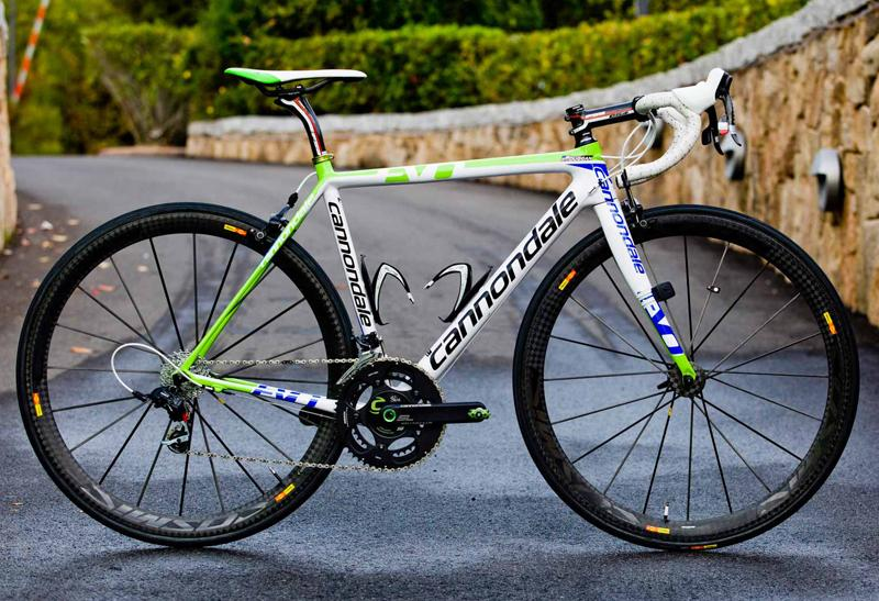 e84a61a1cfb Bikes of the UCI WorldTour 2012: Cannondale SuperSix Evo of Liquigas- Cannondale