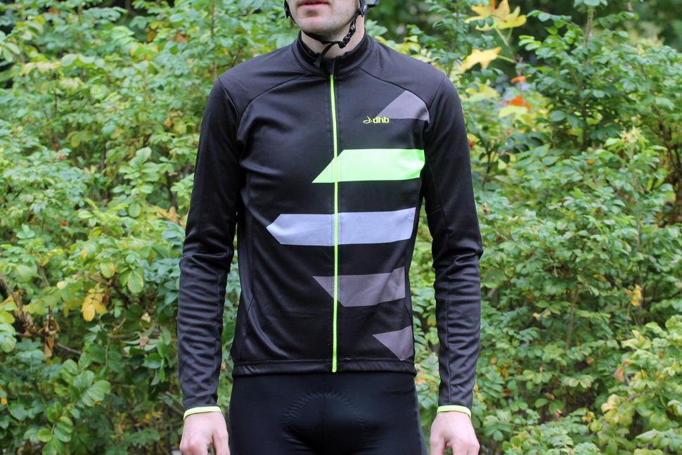 Review  dhb Blok Fluoro Long Sleeve Jersey  14c4b7481
