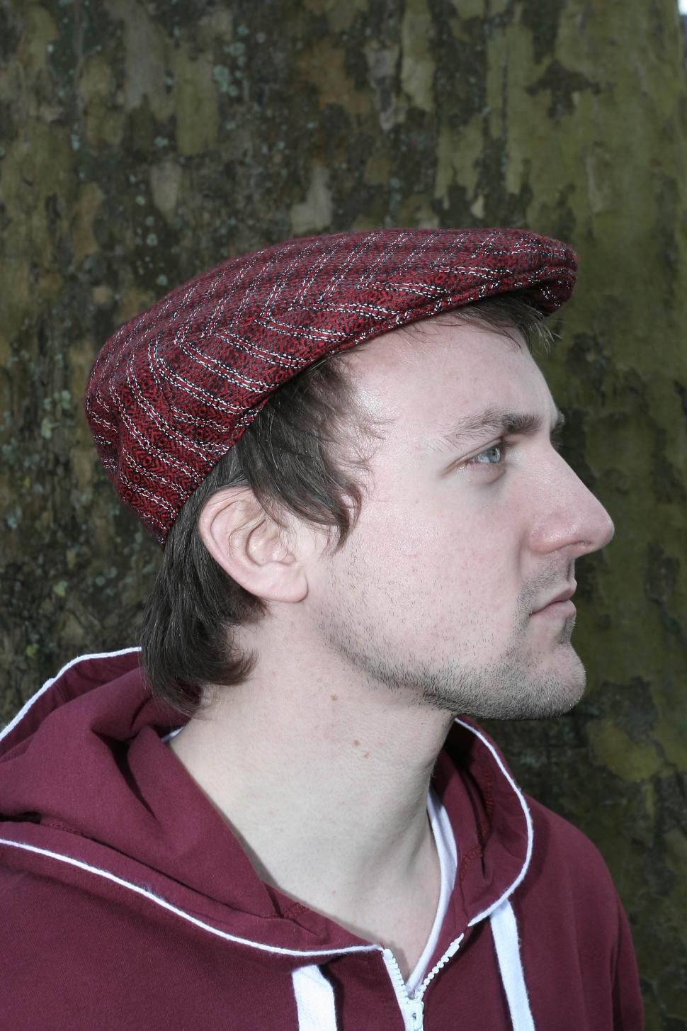 Dashing Tweeds reflective cap - side