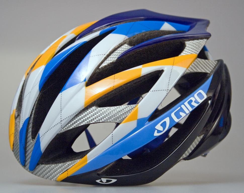 Giro Ionos Ltd edition: Garmin-Chipotle Blue-White3