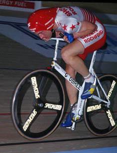 Graeme Obree hour record 1993