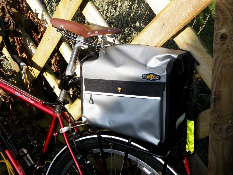 Topeak MTX Trunk Dry Bag in situ