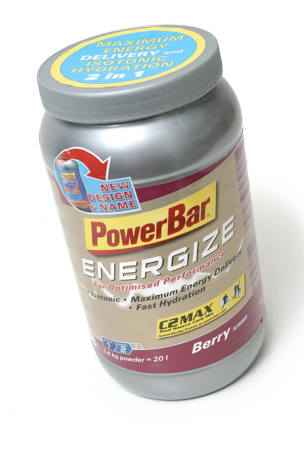 Powerbar Energize isotonic drink