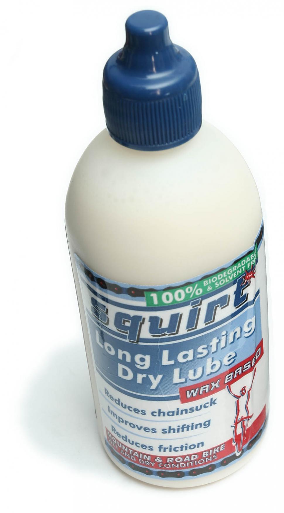 Squirt wax lube