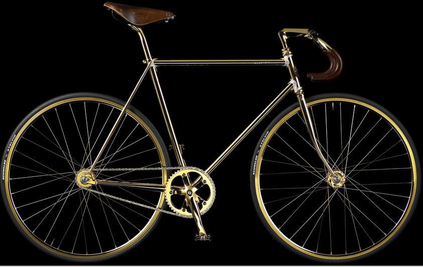 Gold Bike Crystal Edition