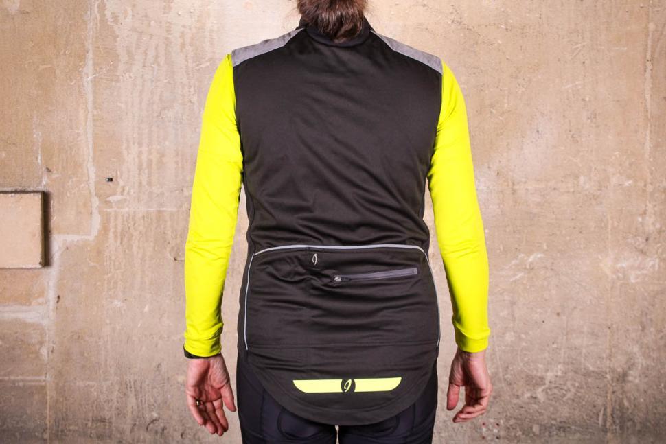 Isadore Womens Merino Membrane Soft Shell Vest - back.jpg