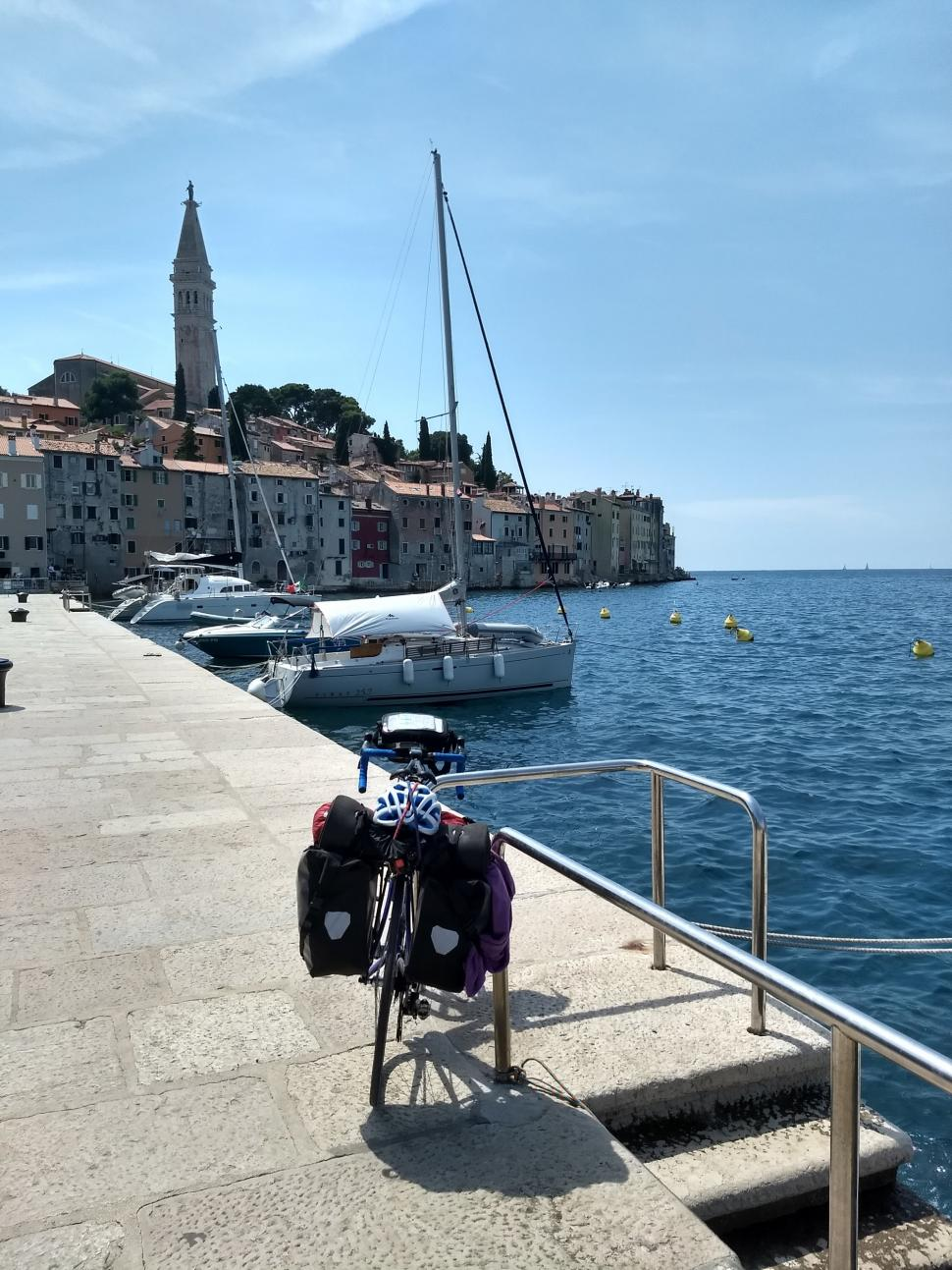 Istria's characteristic coast