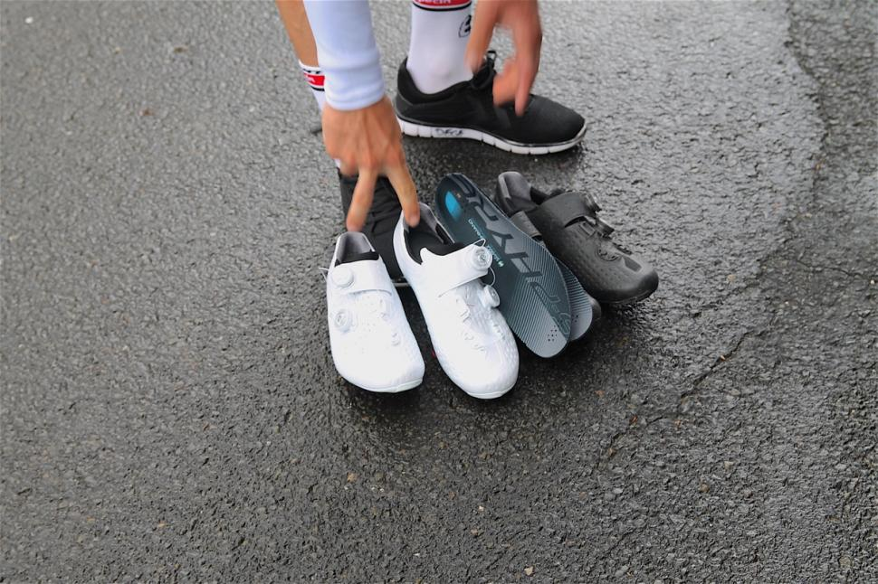 Wearing Cycling Shoes With No Insoles