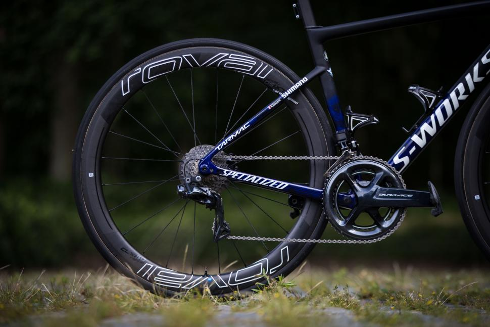 Julian Alaphilippe's Specialized S-Works Tarmac6