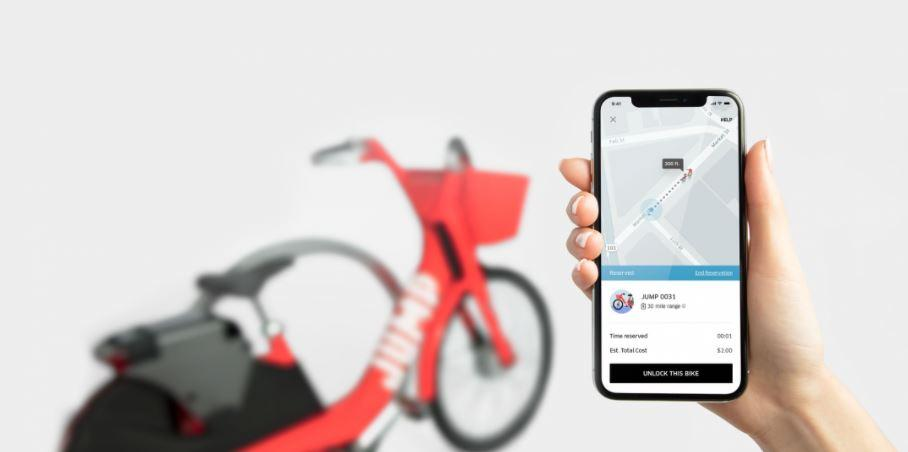 Jump Bikes (picture source Uber)