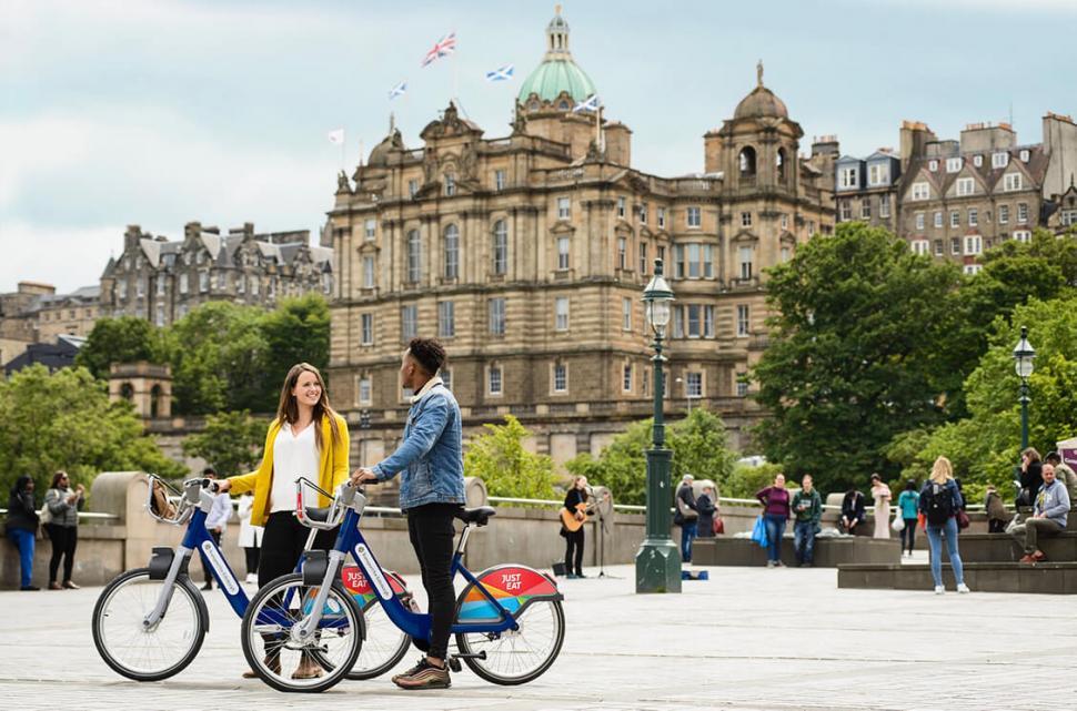 Just Eat Cycles in Edinburgh
