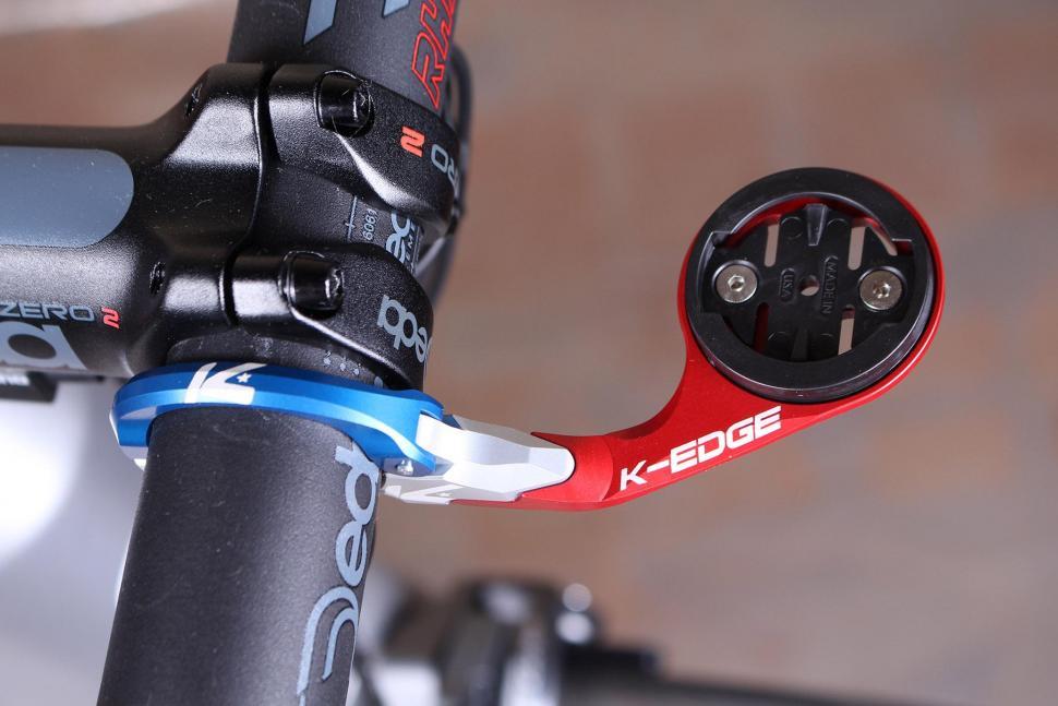 25 Black K-Edge Sport Bike Handlebar Mount For Garmin Edge 20 820 520