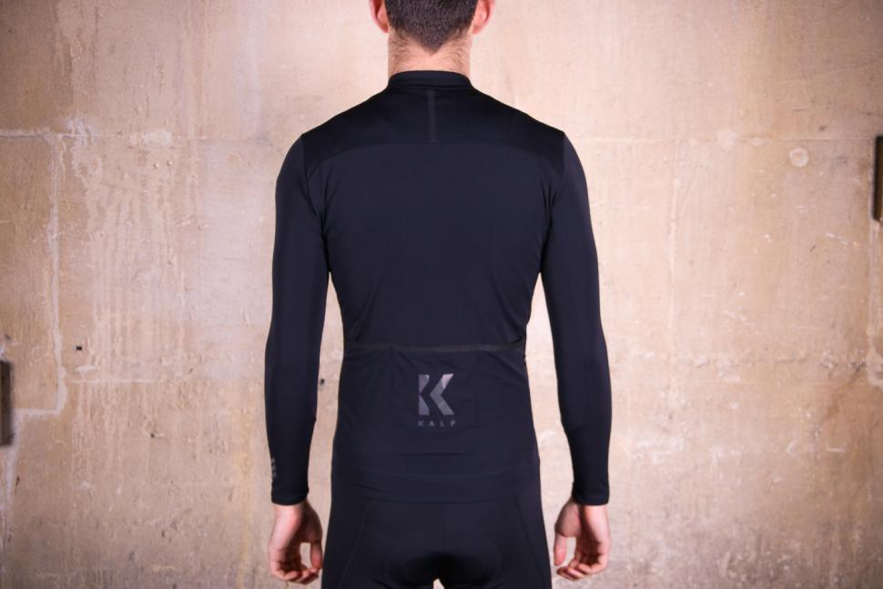 Kalf Club Thermal Men's Long Sleeve Jersey - back.jpg