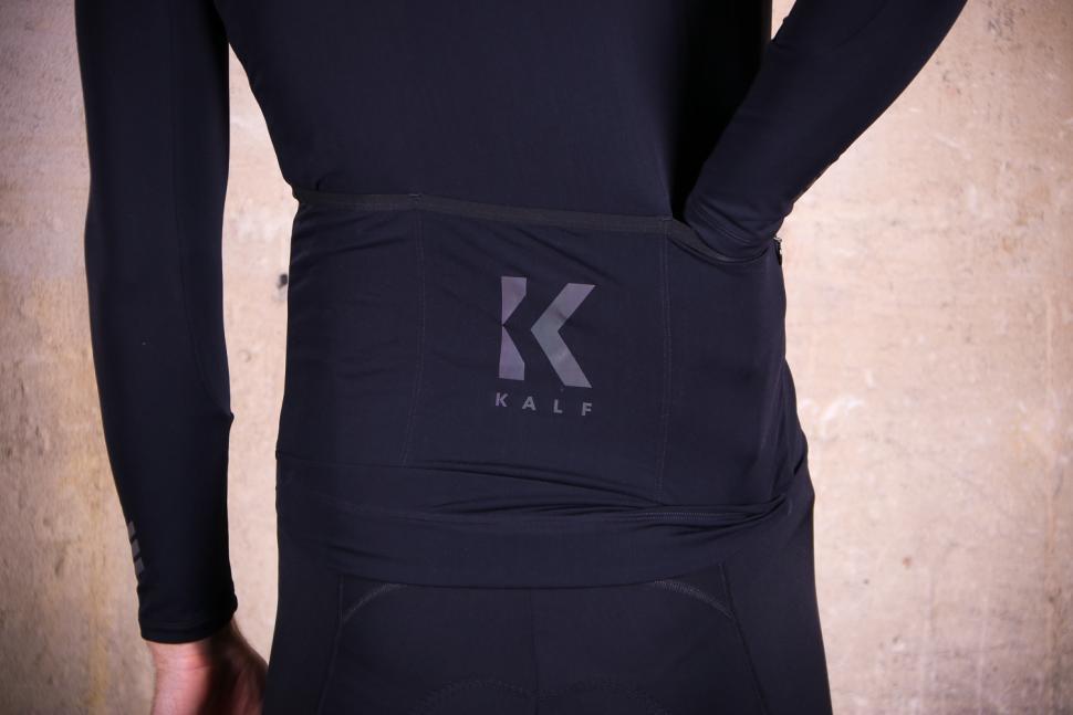 Kalf Club Thermal Men's Long Sleeve Jersey - pockets.jpg