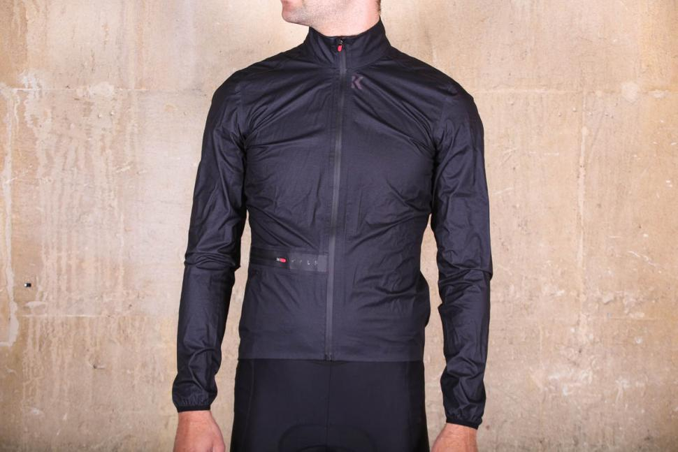 300c11622686 Kalf s Flux Lightweight Jacket proves itself to be a very capable  showerproof jacket
