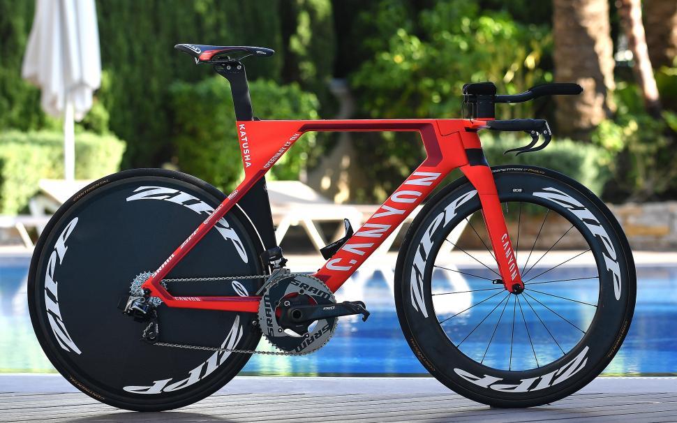 WorldTour 2017 Bikes: Tony Martin's new Canyon Speedmax CF