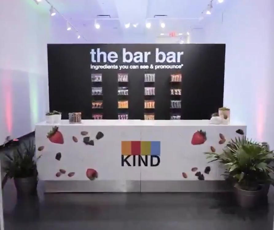 Kind pop-up bar