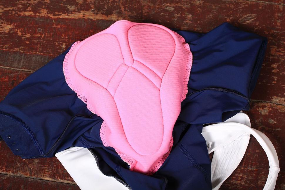 La Passione Summer Bib Shorts Blue Woman - pad.jpg
