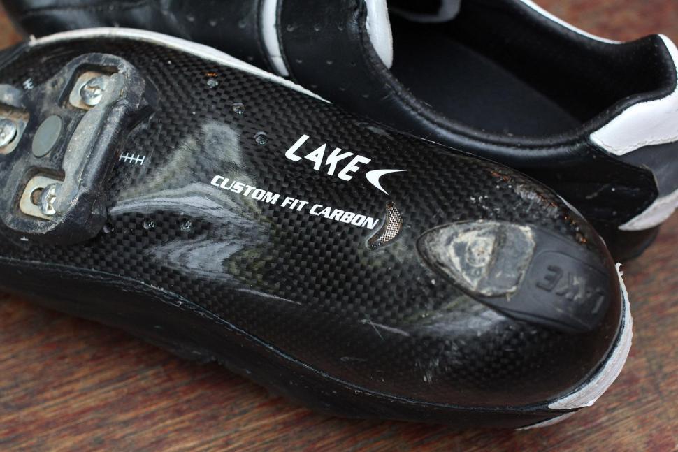 Lake CX402 CFC Carbon Bicycle Cycle Bike Road Shoes Speedplay White 50