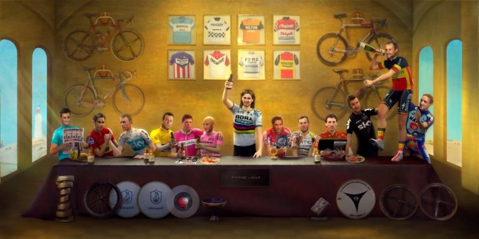 The Last Supper - Cycling Legends