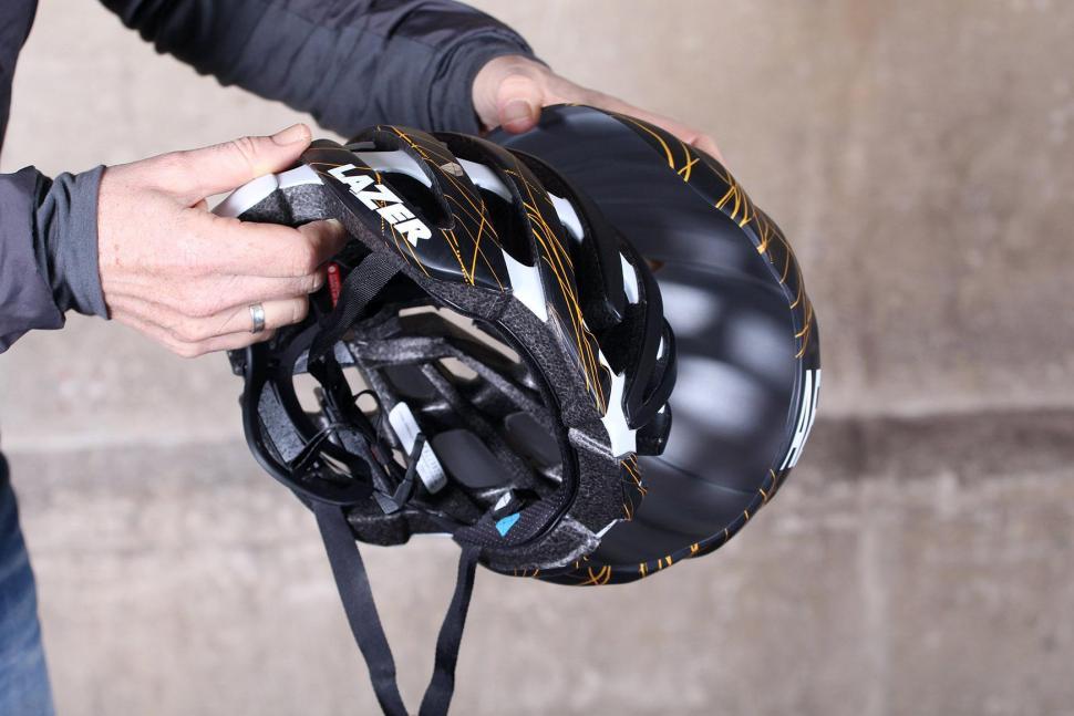 Lazer Cosmo helmet with Aeroshell - aeroshell removal.jpg