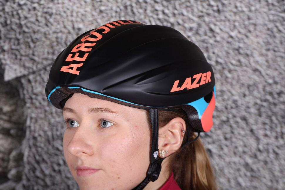 Lazer Elle Blue Coral Womens Helmet - with Aeroshell 2.jpg