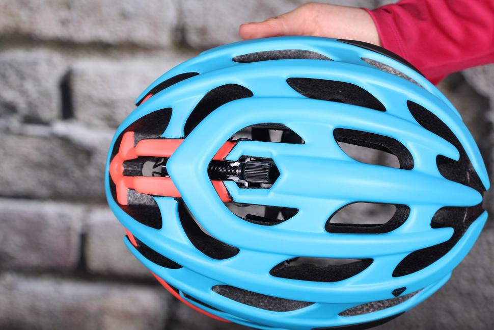 Lazer Elle Blue Coral Womens Helmet - top mech.jpg