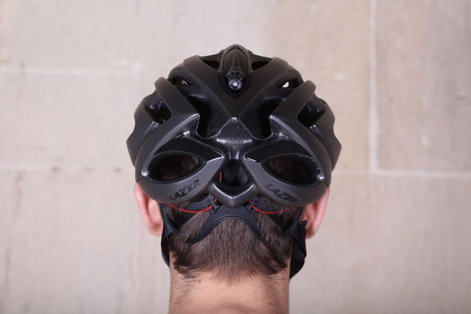 Lazer O2 Matte Titanium Helmet - back.jpg