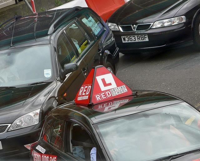 Learner driver (image CC licensed by David J Morgan via Flickr).jpg