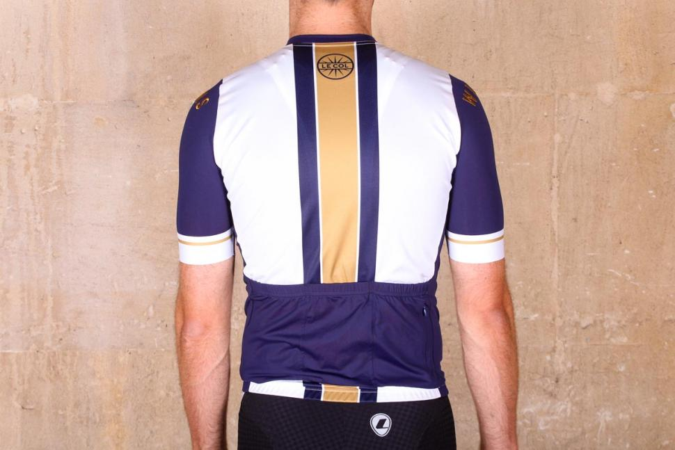 d03ae712a le col wiggins limited edition pro gold stripe jersey - back.jpg. The jersey  ...