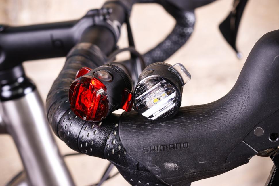 Rear Bike Light Knog Frog Strobe Titanium