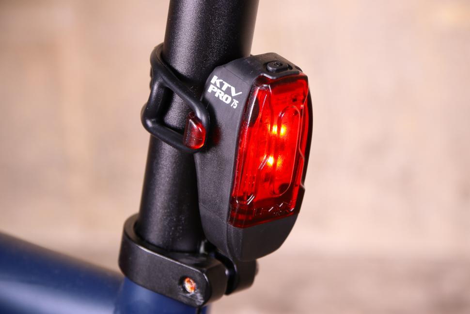 LEZYNE LED KTV DRIVE BLACK BICYCLE HEADLIGHT