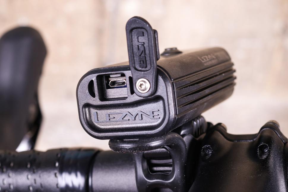 Lezyne Super Drive 1600XXL LED Front Headlight Bicycle Light Grey 1600 Lumen