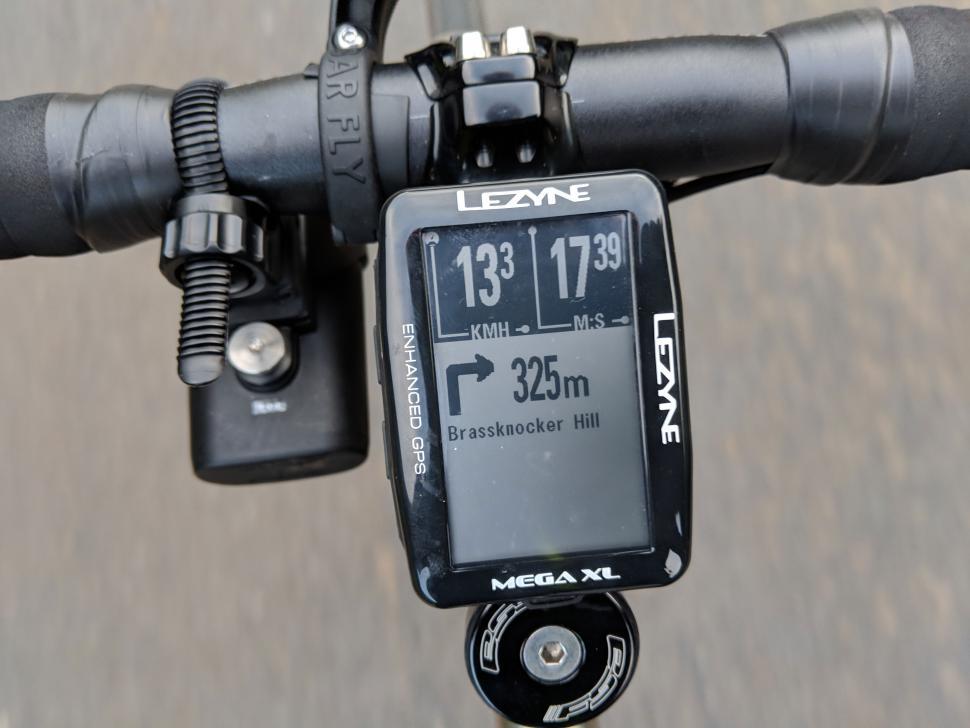 New LEZYNE Mega XL GPS Bicycle Computer Turn-by-Turn Navigation 48H Runtime USB