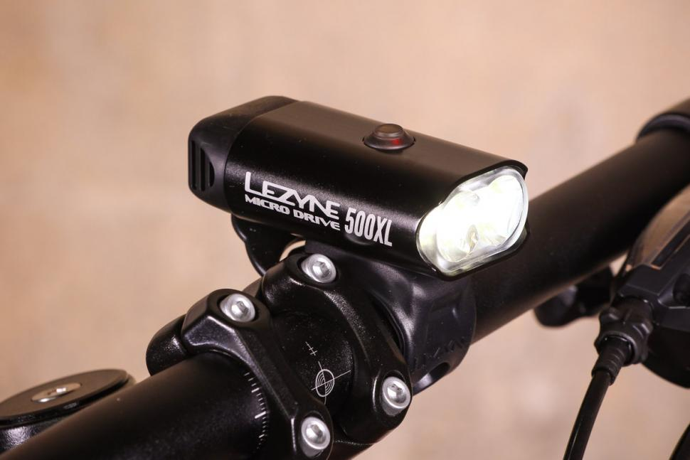 Polish//Hi Gloss Lezyne Hecto Drive 500XL Front Light