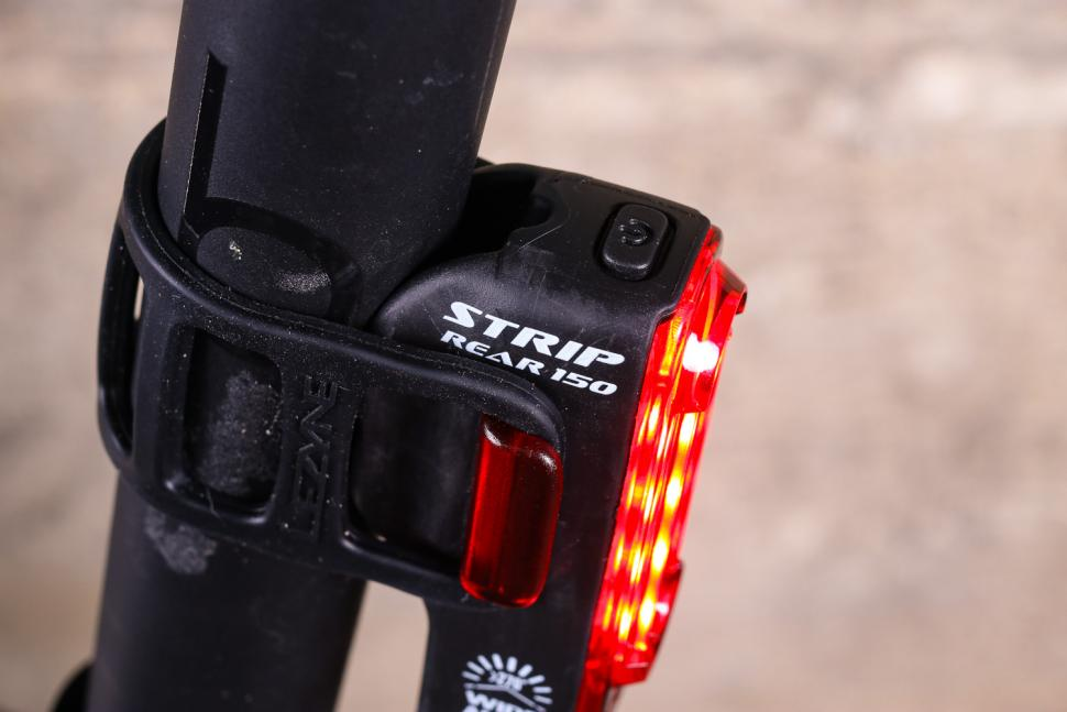 Lezyne Strip Drive Rear Bike Bicycle Light Taillight 150 Lumen Black
