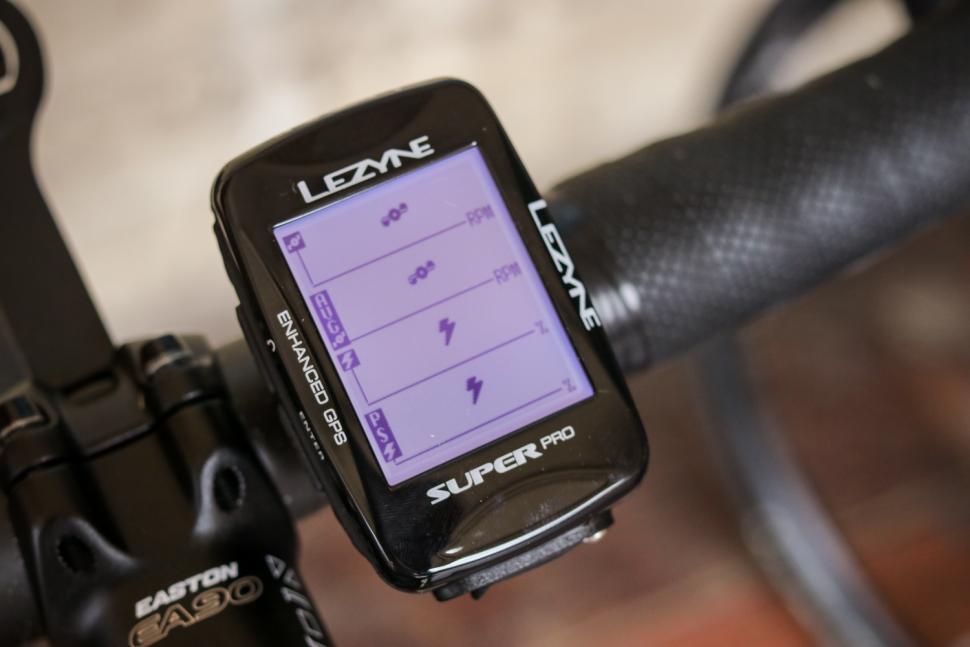 Lezyne Super Pro GPS cycling computer - on bars 2.jpg